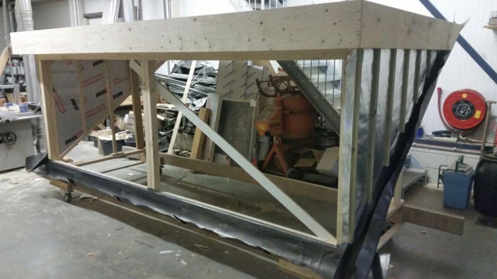 Nieuwe dakkapel in Gouderak